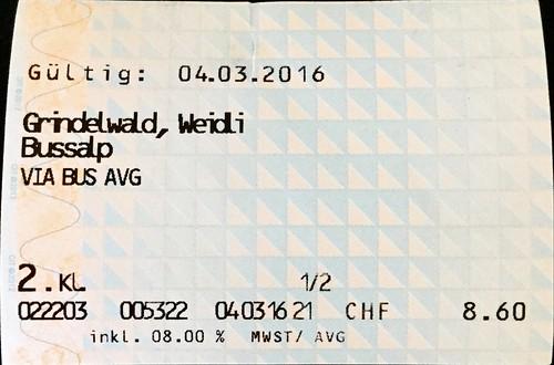 Busfahrausweis Schweiz