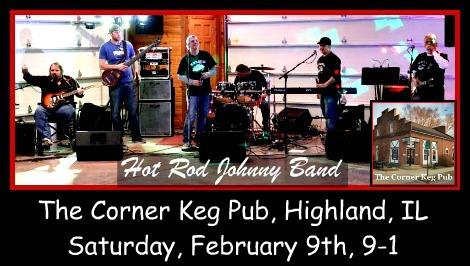 Hot Rod Johnny Band 2-9-19