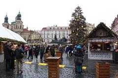 Praga. República Checa. mercado navideño