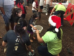 Hawaiian Electric at the HUGS Christmas Party – Dec. 15, 2018 – We had fun doing activities with the keiki.