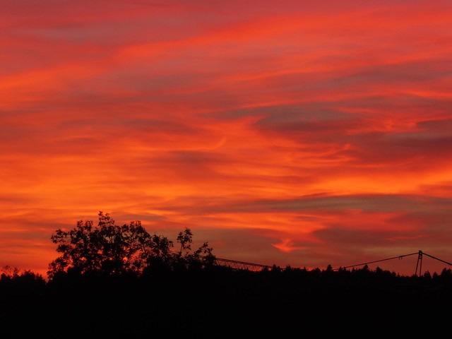 P1130455 Sunset / Sonnenuntergang, Panasonic DMC-TZ71