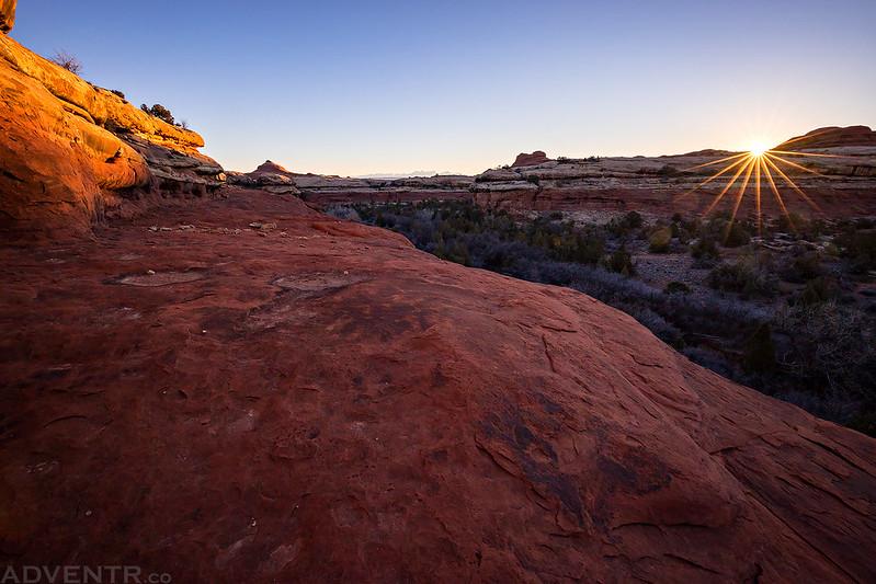 Big Spring Canyon Sunrise