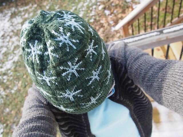 Asterisk Hat, pre-pompom