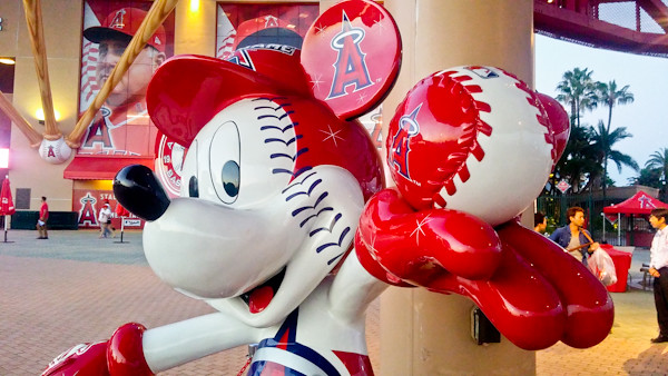 Angel Stadium: Mickey