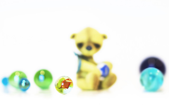 blurred button does not like marbles