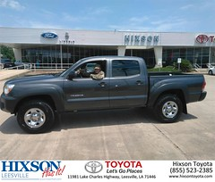 #HappyBirthday to Clinton from Ashley Alford at Hixson Toyota of Leesville!
