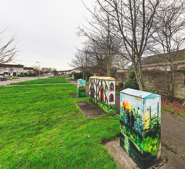 EXAMPLES OF PAINT-A-BOX STREET ART IN LEIXLIP [PAINTED UTILITY CABINETS]-148217