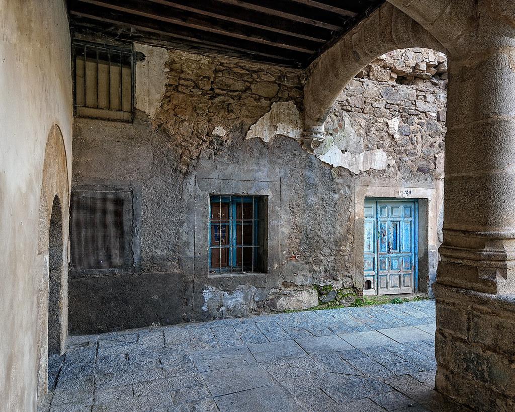 La gatera de la puerta azul. 46877516922_302b77b4e9_b