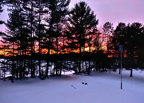 Sunset in Sugar Camp