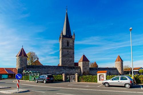 Fortified church Hannberg