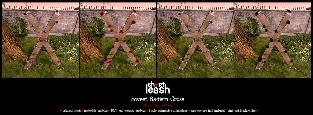 .:Short Leash:. Sweet Sadism Cross –  Exclusive Bound Box Edition