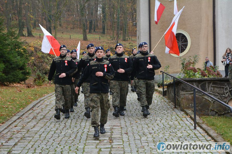 Marsz z okazji 100. rocznicy odzyskania przez Polskę niepodległości