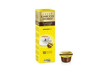 Tradition 100% Arabica Chicco d'Oro, capsule caffè Caffitaly