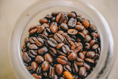 Beans blur caffeine - Credit to https://homegets.com/