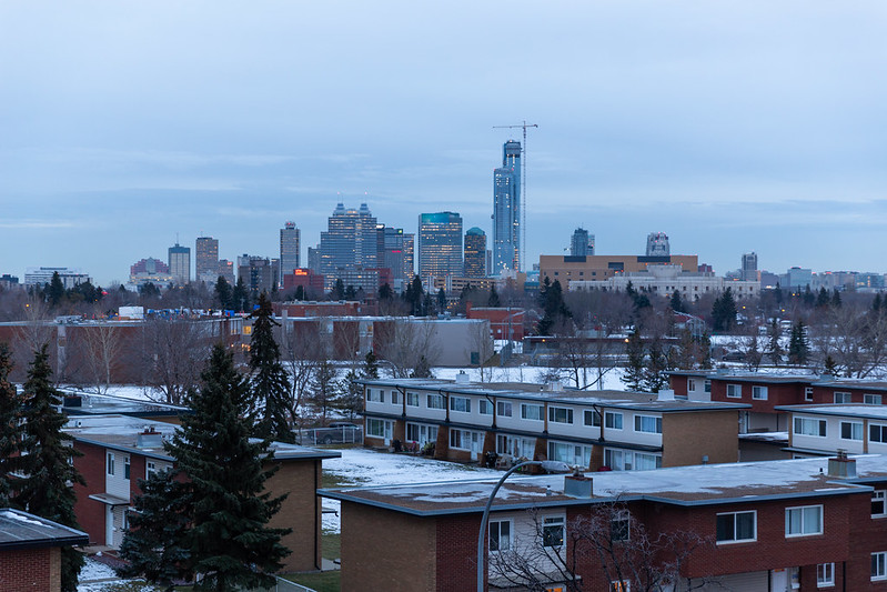 Downtown View from NAIT's new PIC
