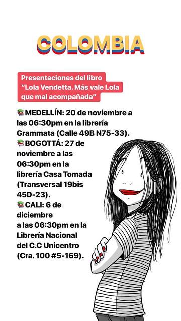 Lola Vendetta Libro