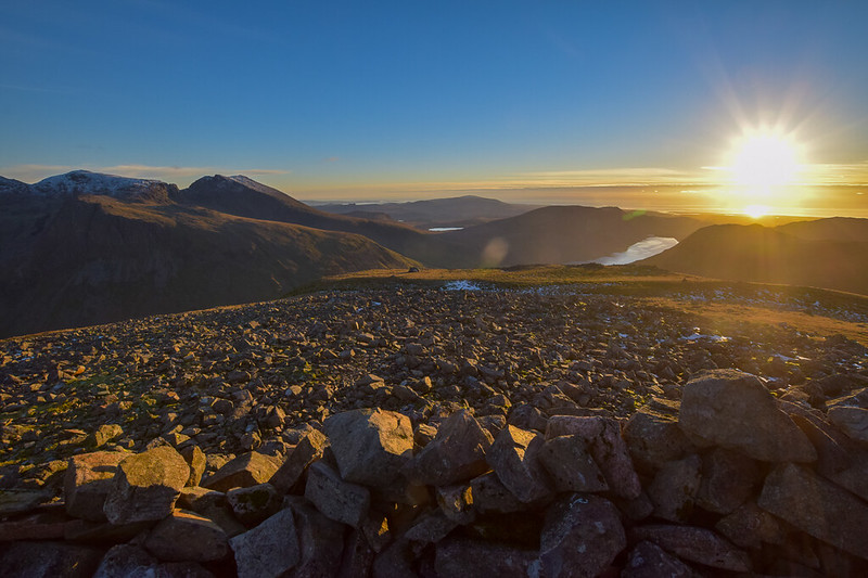 Kirk Fell walks Lake District