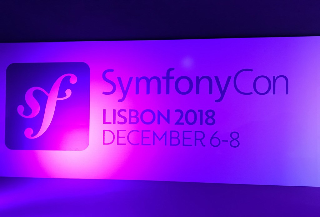 SymfonyCon Lisbon 2018 - Wall banner