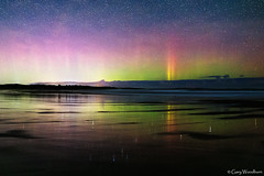 Hello Old Friend ! - Aurora Borealis, Embleton, Northumberland