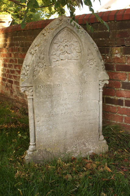 Grave of John Robarts VC Highland Road Cemetery Portsmouth Hampshire UK