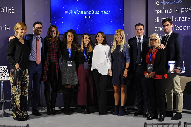 #SheMeansBusiness evento finale