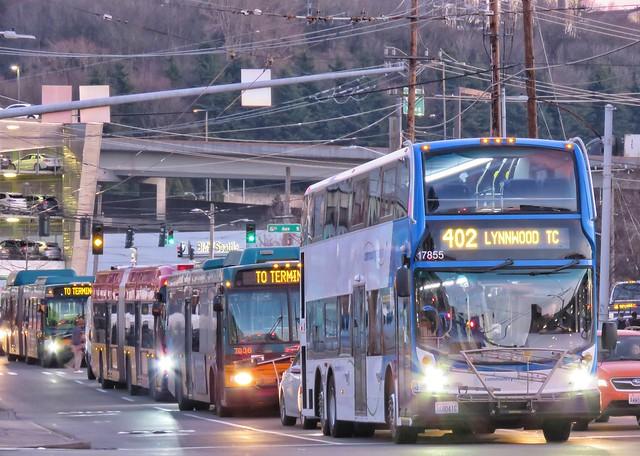 Community Transit 2017 Alexander Dennis Enviro 500 17855
