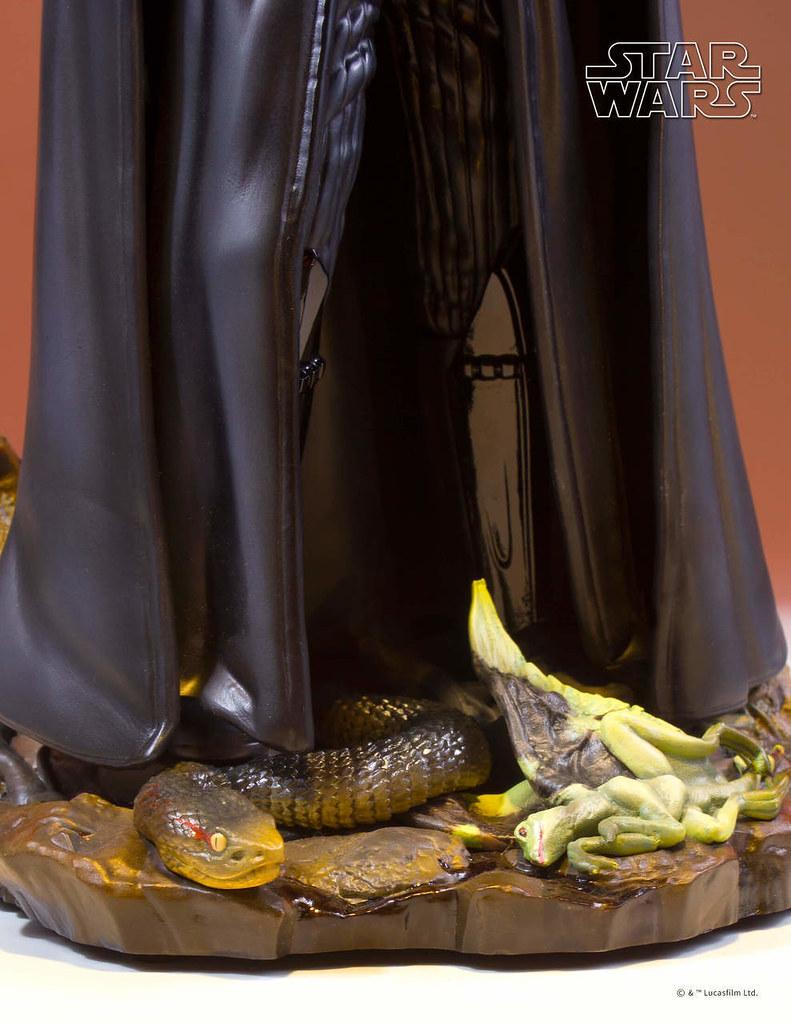不該出現在達可巴的恐怖將軍立體化!! Gentle Giant Collector's Gallery《星際大戰五部曲:帝國大反擊》達斯·維德 Darth Vader 1/8 比例雕像作品