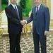 President Nakao meets President of Turkmenistan