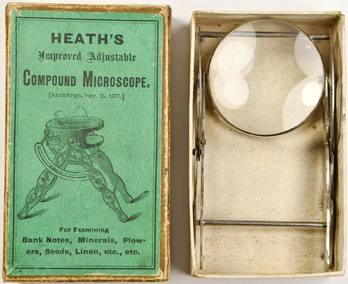 SBG MJS-Lot 9283 Heaths Microscope with Box