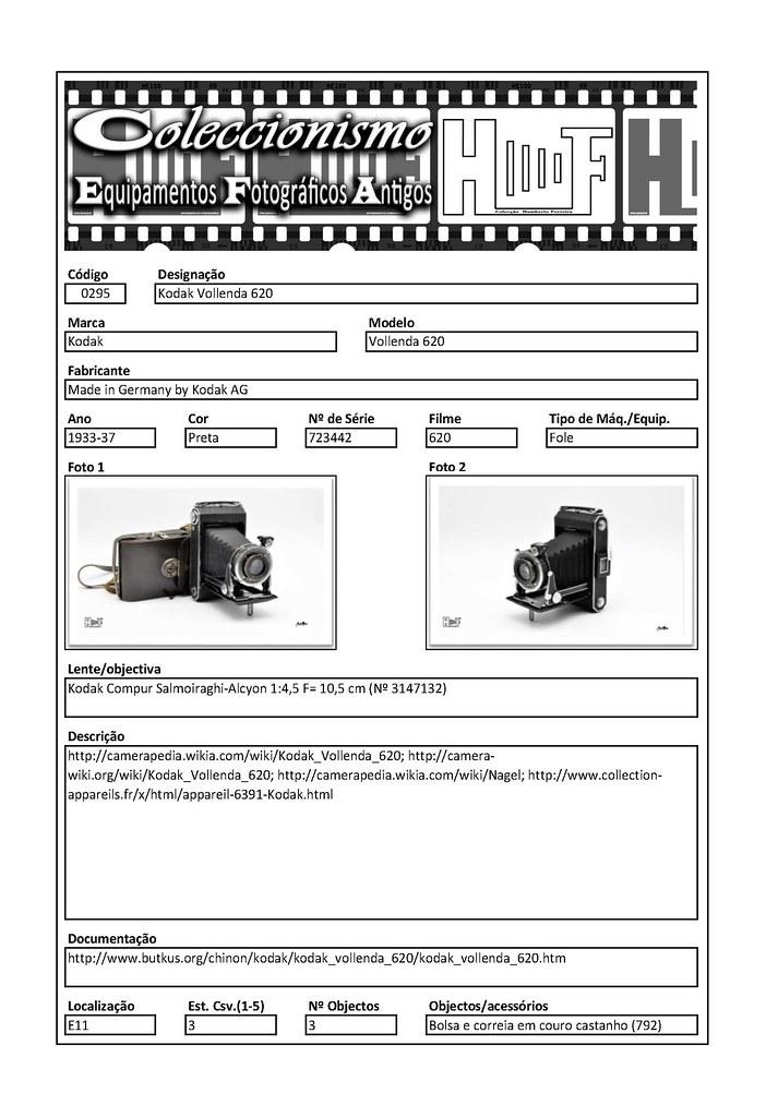 Inventariação da colecção_0295 Kodak Vollenda 620