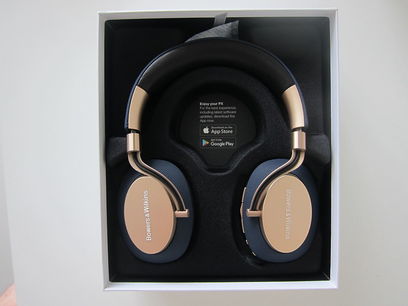 Bowers & Wilkins PX Headphones - Box Open