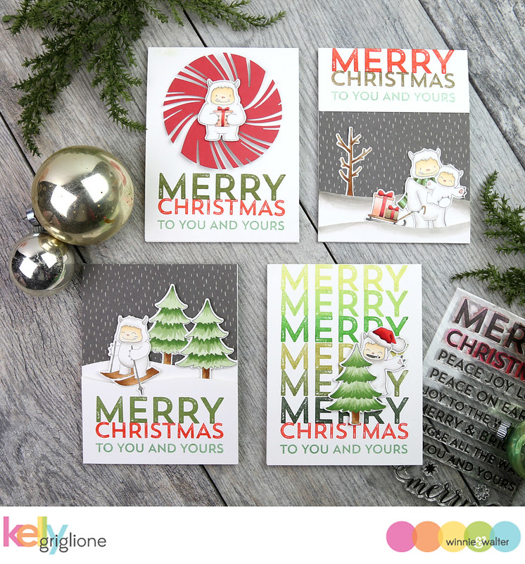 kelly_Winnie and Walter Yetitide   Greetings Christmas Cards