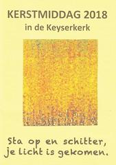 KERSTMIDDAG 2018 in de KEYSERKERK