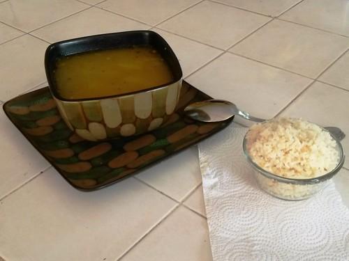 Suppe und Reis geht im Zweifel immer