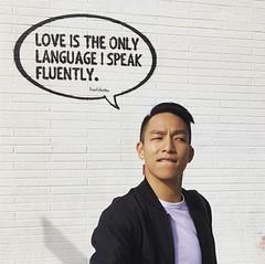 愛你唷~ 【浪遊旅人】http://bit.ly/1zmJ36B #backpackerjim #lifestyle #streetart #mural #graffiti #losangeles #usa #america
