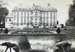 Chaussoy Epagny, photo-Montage argentique du chateau