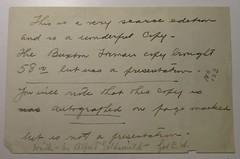 Penn Libraries 811W 1888.2: Inscription