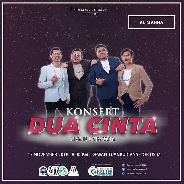Konsert Dua Cinta 2018