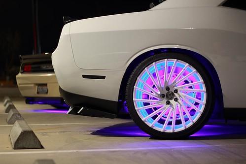 Dodge Challenger LED Wheel Rings