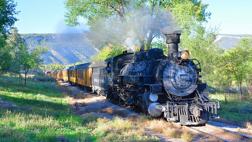 The Durango and Silverton Narrow Gauge Railway