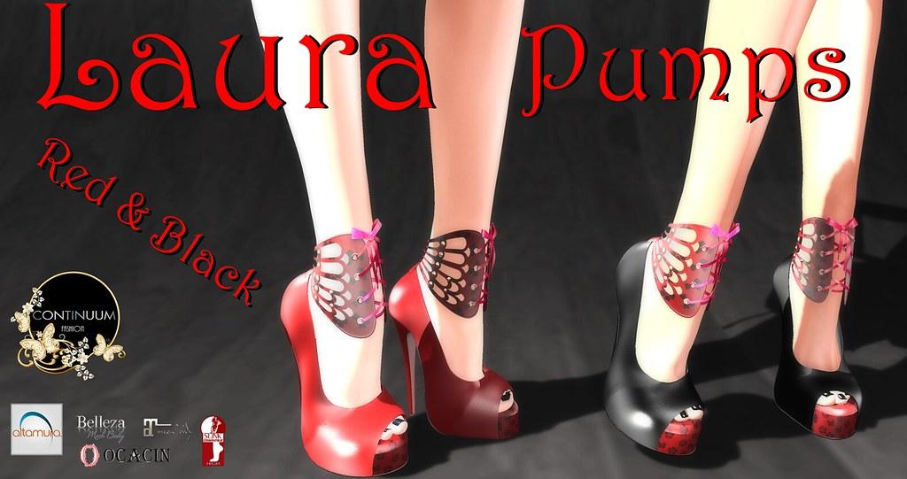 Continuum Laura Pumps