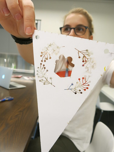 Laser cut bunting, Auahatanga | Creativity, Level 4