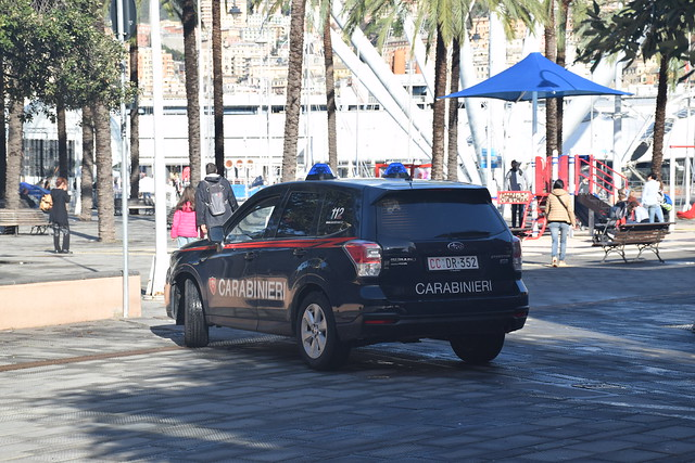 Subaru Forester Carabinieri NRM API