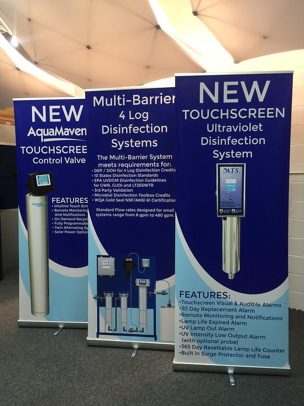 Aqua Treatment Banners