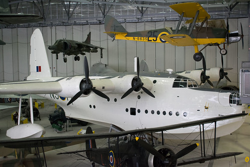 Short Sunderland at the IWM, Duxford