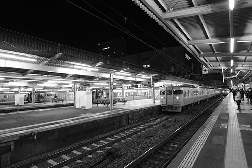 Hiroshima Station in early morning on 25-11-2018 (8)