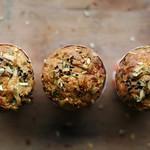 brindzás-túrós muffin