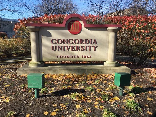Entrance to Concordia University