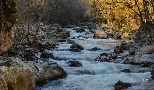 La Cance vers la Roche Péréandre (Ardèche)