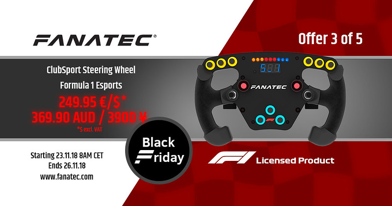 Fanatec 2018 Black Friday Deal 3